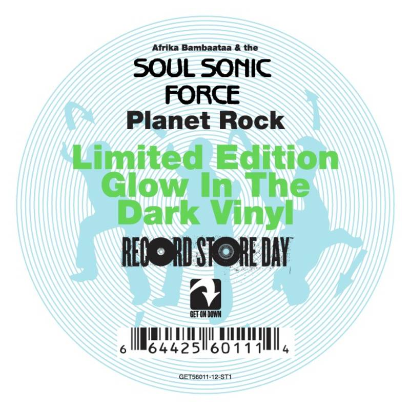 Afrika Bambaataa & The Soul Sonic Force Planet Rock