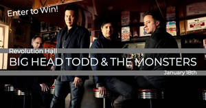 Big Head Todd & The Monsters at Revolution Hall 1/18!
