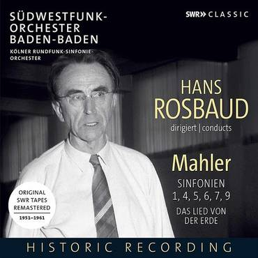 Rosbaud Conducts Mahler (Box)