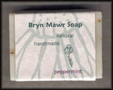 Natural Handmade Peppermint Soap - Bryn Mawer Soap