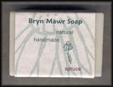 Natural Handmade Spruce Soap - Bryn Mawer Soap