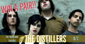 The Distillers at the Roseland Theater 9/12!