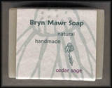 Natural Handmade Cedar Sage Soap - Bryn Mawr Soap
