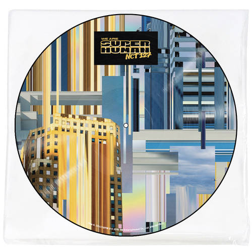The 4th Mini Album 'NCT #127 WE ARE SUPERHUMAN' [Picture Disc Vinyl]