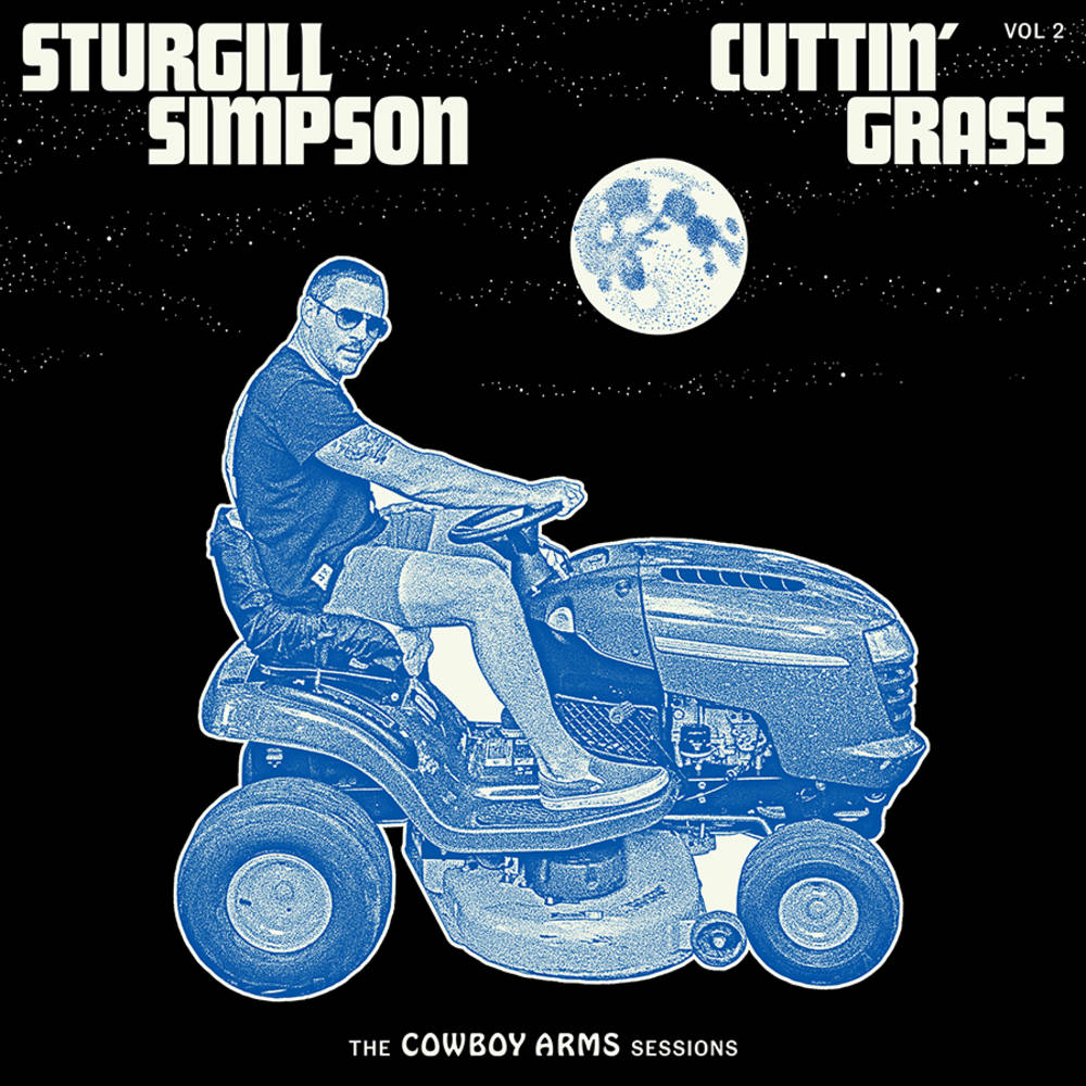 Sturgill Simpson - Cuttin' Grass - Vol. 2 (The Cowboy Arms Sessions) [Indie Exclusive Limited Edition Opaque Blue w. White Swirl 2LP]