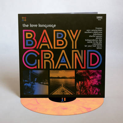 The Love Language - Baby Grand [Indie Exclusive Limited Edition Peak Vinyl]