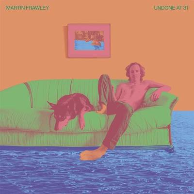 Martin Frawley - Undone At 31 [Indie Exclusive Limited Edition Blue/White LP]