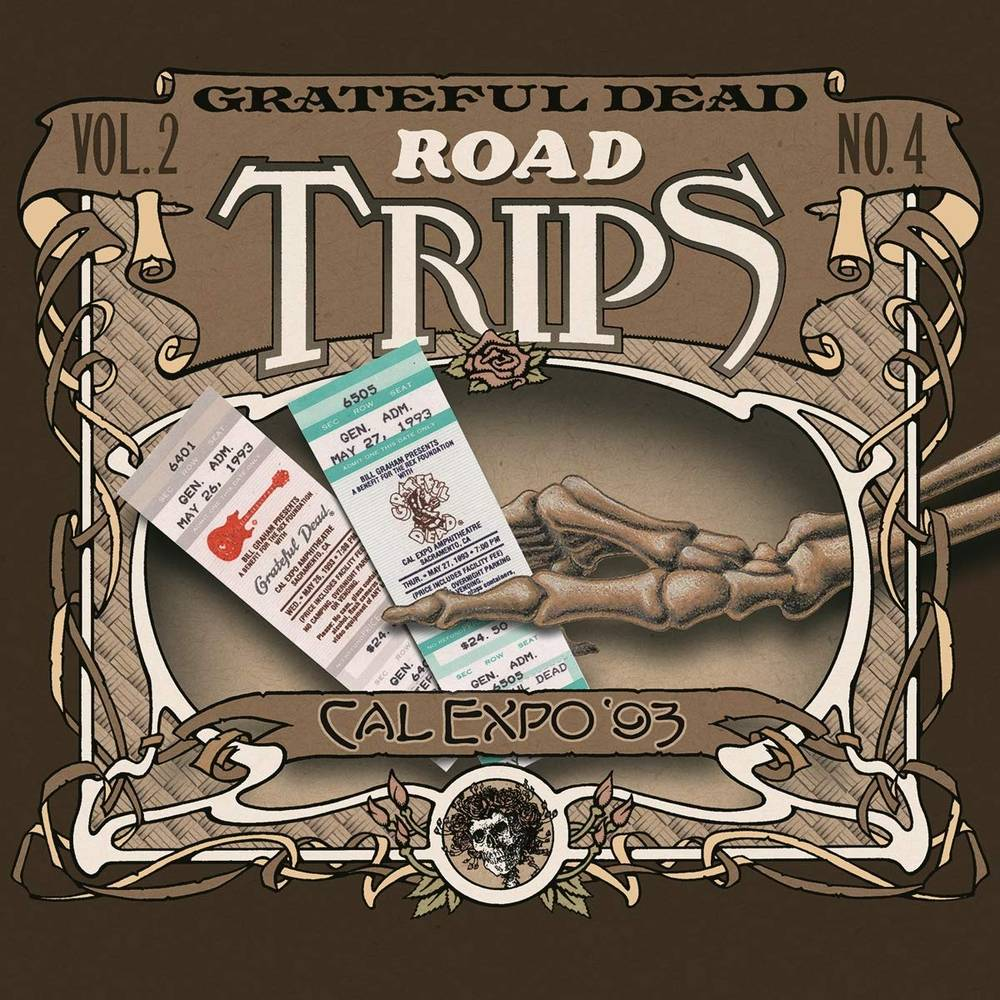 Grateful Dead - Road Trips Vol. 2 No. 4--cal Expo '93