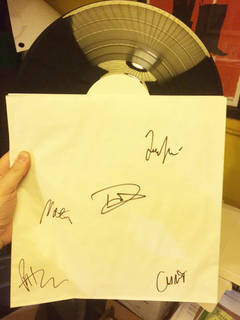 Enter To Win A Signed Foo Fighters Test Pressing!!