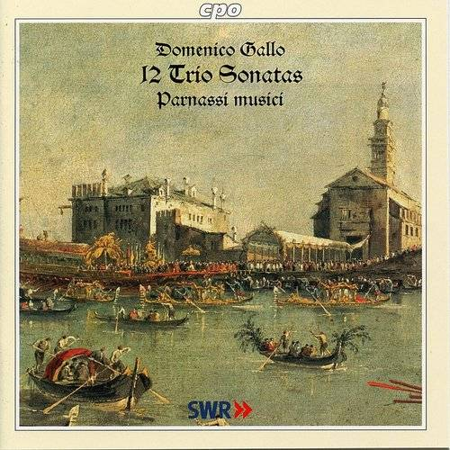 12 Trio Sonatas: Orig Attributed To Pergolesi