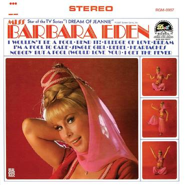 Miss Barbara Eden [Limited Edition Pink LP]