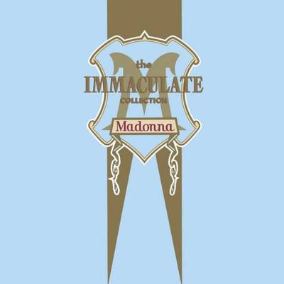 Madonna - Immaculate Collection [SYEOR 2017 Exclusive Blue/White Marble and Gold Vinyl]