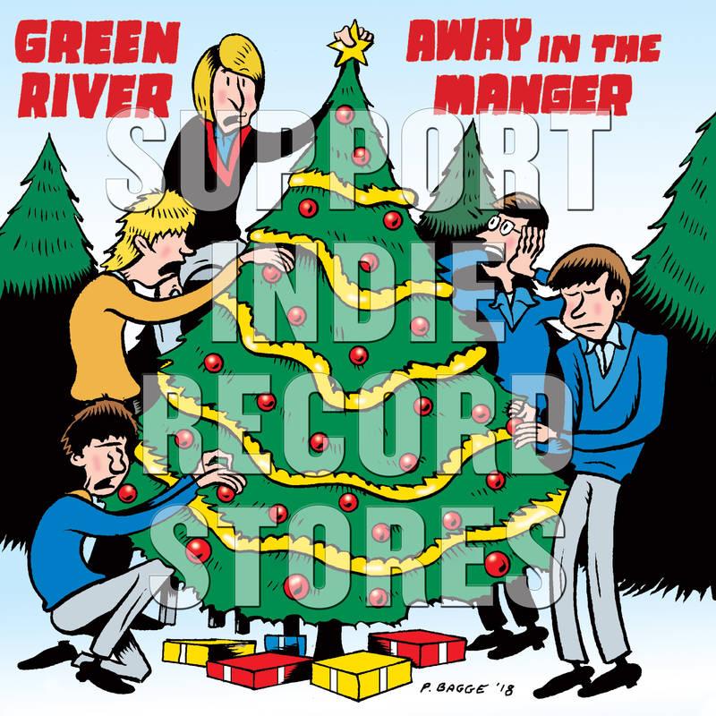 "Green River U Men Sub Pop Holiday 7"""
