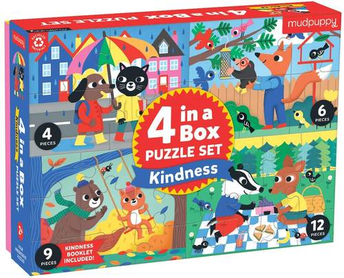 Puzzle - Kindness 4 In 1