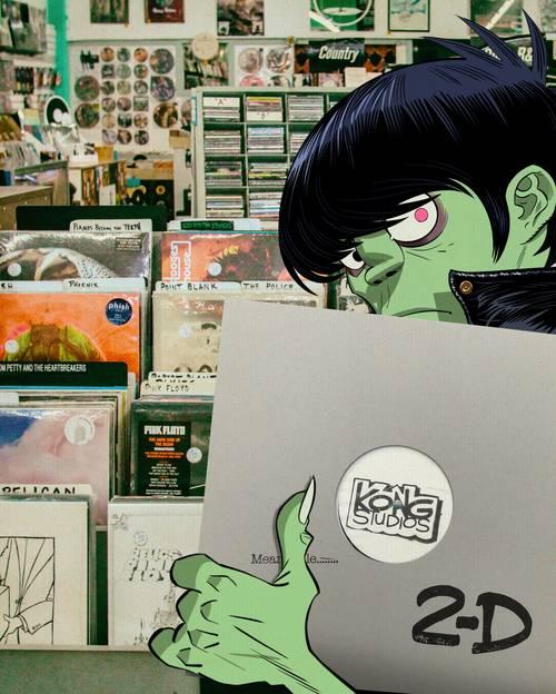 Park Ave CDs - Gorillaz Signed EP Giveaway [1 Raffle Entry]