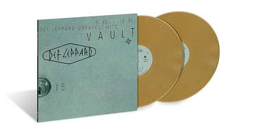 Vault: Def Leppard Greatest Hits (1980-1995) [Metallic Gold 2 LP]