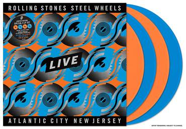 Steel Wheels Live: Live From Atlantic City, NJ, 1989 [Tangerine/Sky Blue 4LP]