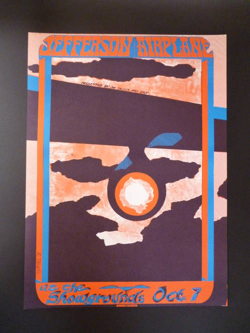 Poster (Reprint) - Jefferson Airplane, Spirit & Hour Glass