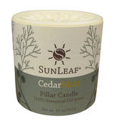 Candle - Cedar Mint 3x3 Pillar Candle