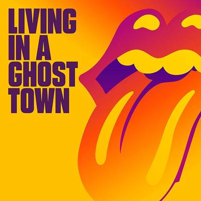 The Rolling Stones - Living In A Ghost Town [Limited Edition 10in Orange Single]