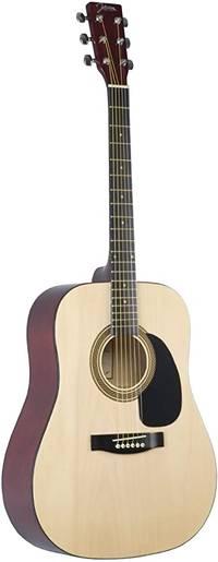 Washburn - Heritage 100 AE Dreadnaut Acoustic Guitar