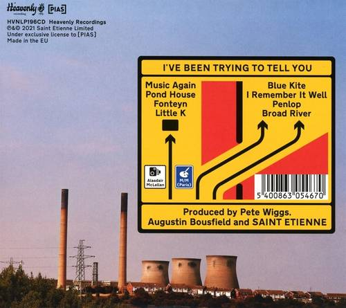 Saint Etienne - I've Been Trying To Tell You [CD+DVD]