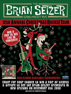 Enter To Win A Trip To See The Brian Setzer Orchestra In New Orleans!