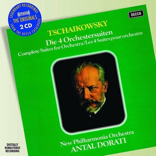 Tchaikovsky: 4 Suites For Orchestra [Import]