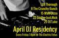 April DJ Residency - Duluth