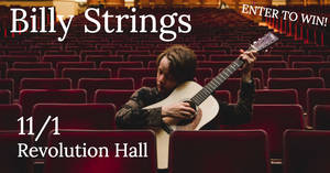 Billy Strings at Revolution Hall 11/1!!