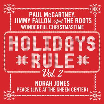 paul mccartneyholidays rulenorah jones wonderful christmastimepeace - A Wonderful Christmas Time