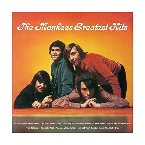 The Monkees Greatest Hits [SYEOR Exclusive 2019 Orange LP]