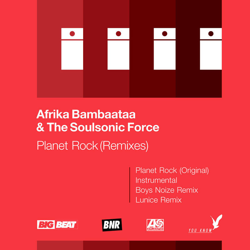"AFRIKA BAMBAATAA & THE SOULSONIC FORCE ""PLANET ROCK"""