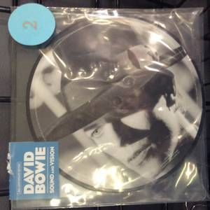 David Bowie 40th Anniversary Sound and Vision Picture Disc 7""
