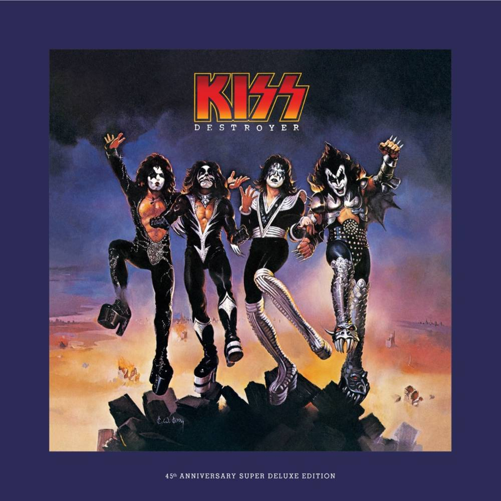 Kiss - Destroyer: 45th Anniversary Edition [Super Deluxe 4CD + Blu-ray Audio]