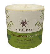 Candle - Cinnamon Cypress 3x3 Pillar Candle