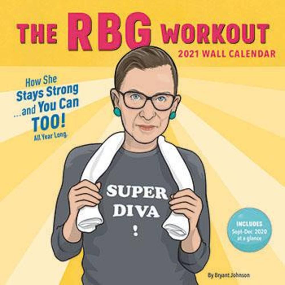 Calendar - 2021 RBG Workout Wall