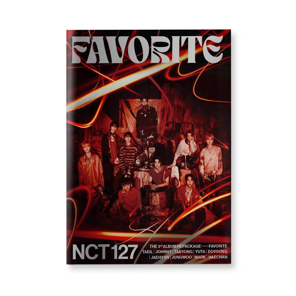 NCT 127 - The 3rd Album Repackage 'Favorite' [Catharsis ver.]