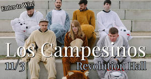 Los Campesinos at Revolution Hall 11/3!