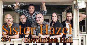 Sister Hazel at Revolution Hall 11/4!