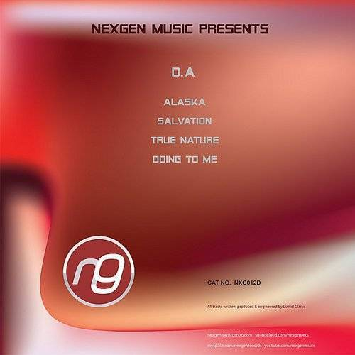 D.A - Alaska / Salvation / True Nature / Doing To Me (4-Track Maxi Single)