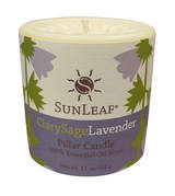 Candle - Clarysage Lavender 3x3 Pillar Candle