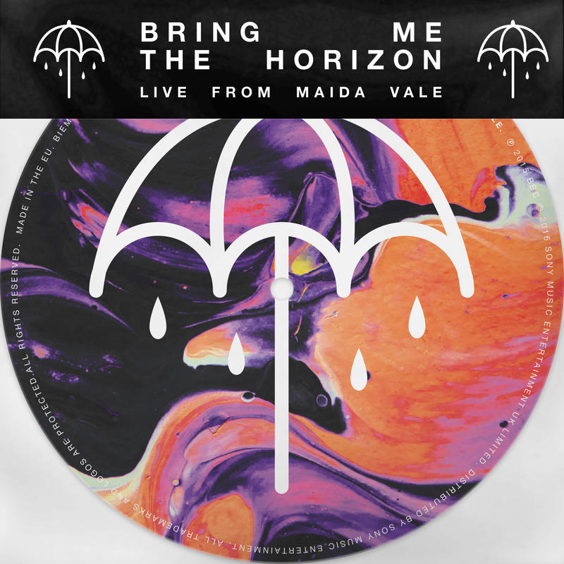 "BRING ME THE HORIZON ""LIVE FROM MAIDA VALE"" 7"" PICTURE DISC"