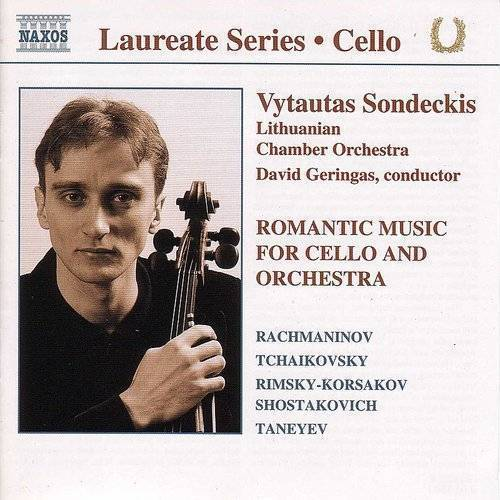Cello Recital: Vytautas Sondeckis