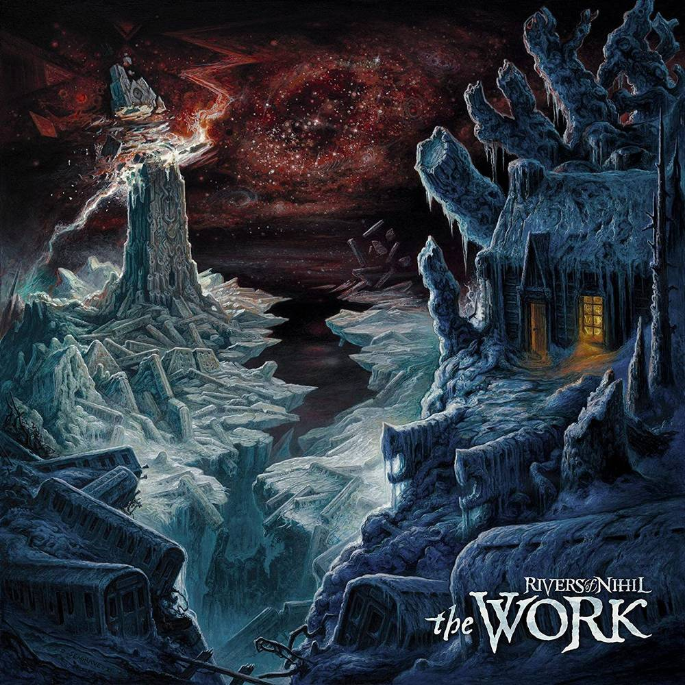Rivers Of Nihil - The Work [Limited Edition Piss Yellow with Aqua LP]