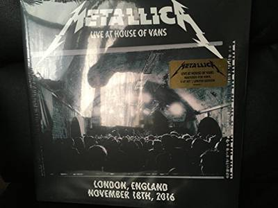 Metallica - Live at House of Vans, London: 11/18/16 [Indie Exclusive Limited Edition 4LP]