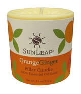 Candle - Orange Ginger 3x3 Pillar Candle