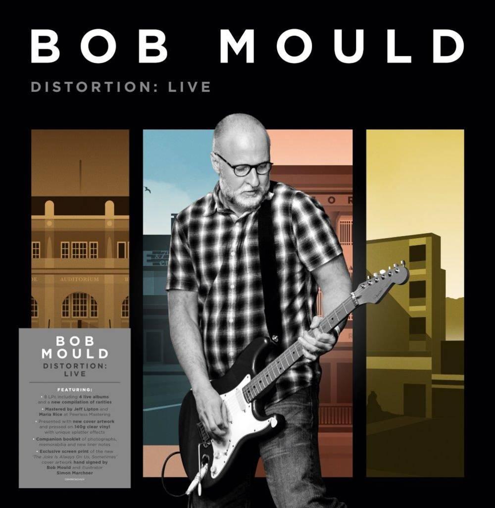 Bob Mould - Distortion: Live [Indie Exclusive Limited Edition Signed 140-Gram Clear Splatter 8LP Box Set]