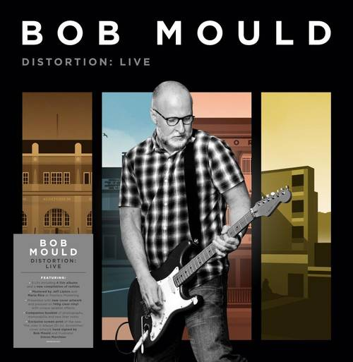 Bob Mould - Distortion: Live [Indie Exclusive Limited Edition Signed 140-Gram Clear Splatter 8LP Box Set]