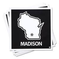 Strictly Discs - Madison Sticker